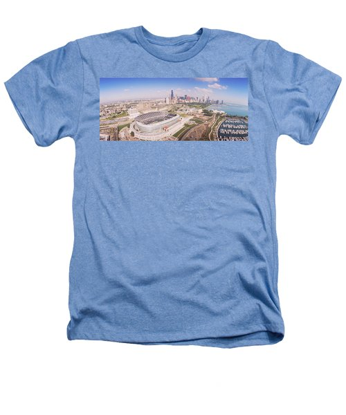 Aerial View Of A Stadium, Soldier Heathers T-Shirt by Panoramic Images