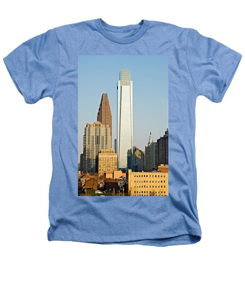 Buildings In A City, Comcast Center Heathers T-Shirt by Panoramic Images