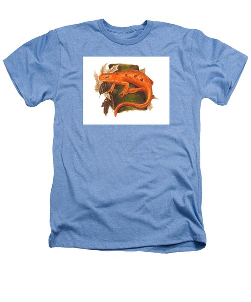 Red Eft Heathers T-Shirt by Cindy Hitchcock