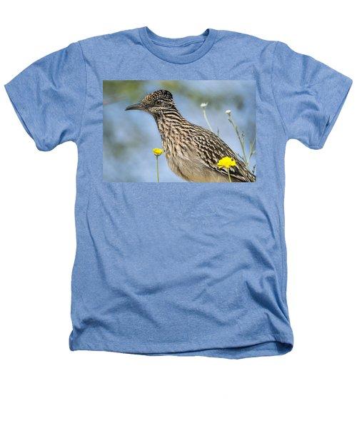 The Greater Roadrunner  Heathers T-Shirt by Saija  Lehtonen