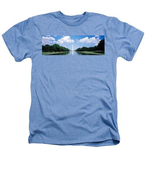 Washington Monument Washington Dc Heathers T-Shirt by Panoramic Images