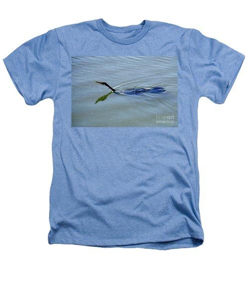Anhinga Heathers T-Shirt by Art Wolfe