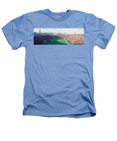 High Angle View Of Spectators Heathers T-Shirt by Panoramic Images