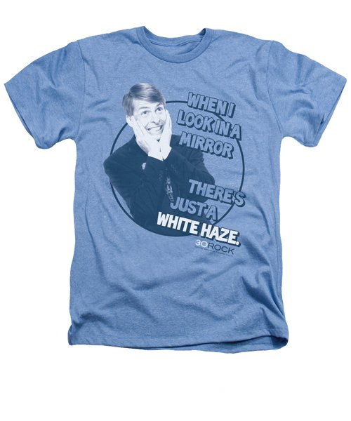 30 Rock - White Haze Heathers T-Shirt by Brand A