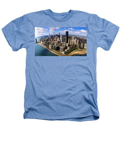 Chicago Il Heathers T-Shirt by Panoramic Images