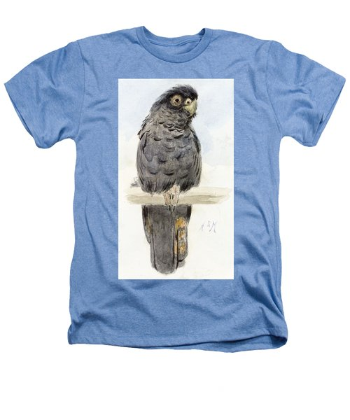 A Black Cockatoo Heathers T-Shirt by Henry Stacey Marks