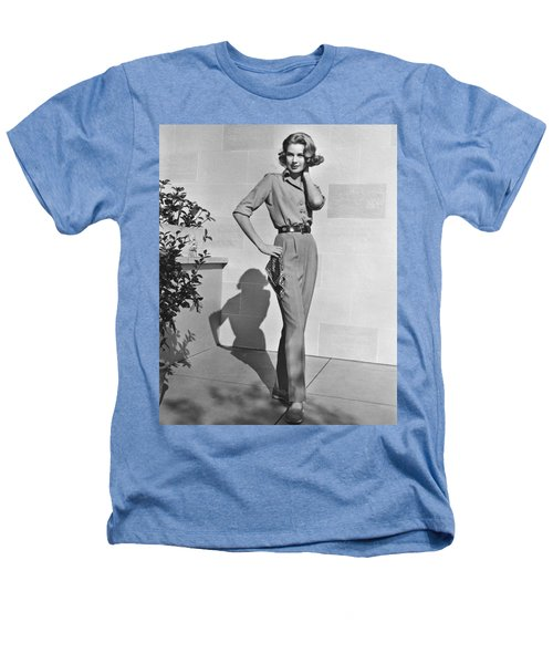 Actress Grace Kelly Heathers T-Shirt by Underwood Archives