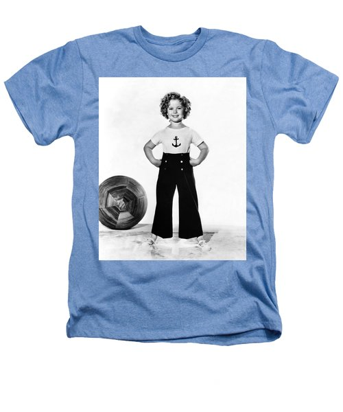 Actress Shirley Temple Heathers T-Shirt by Underwood Archives
