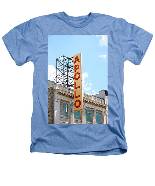 Apollo Theater Sign Heathers T-Shirt by Valentino Visentini