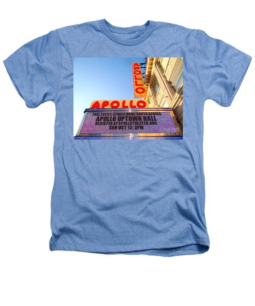 At The Apollo Heathers T-Shirt by Ed Weidman
