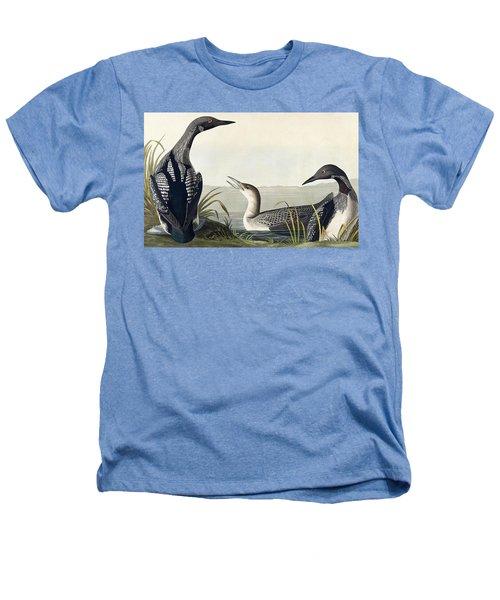 Black Throated Diver  Heathers T-Shirt by John James Audubon