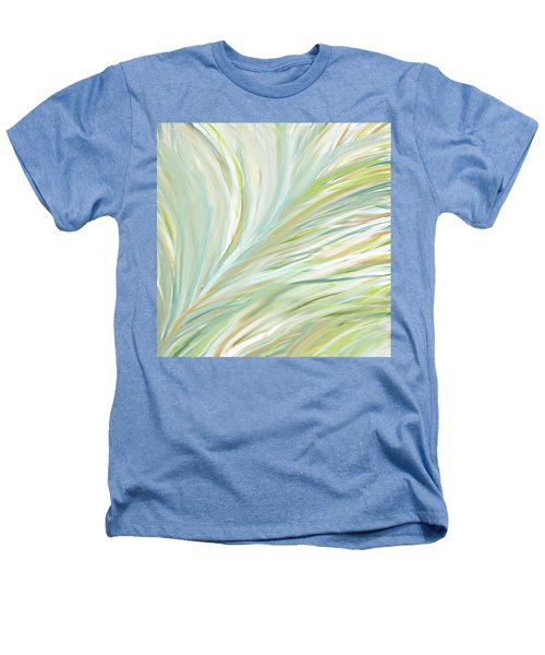 Blooming Grass Heathers T-Shirt by Lourry Legarde
