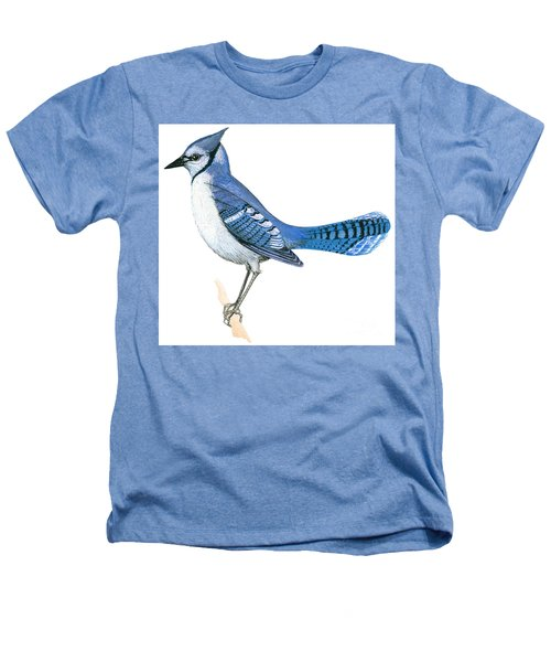 Blue Jay  Heathers T-Shirt by Anonymous