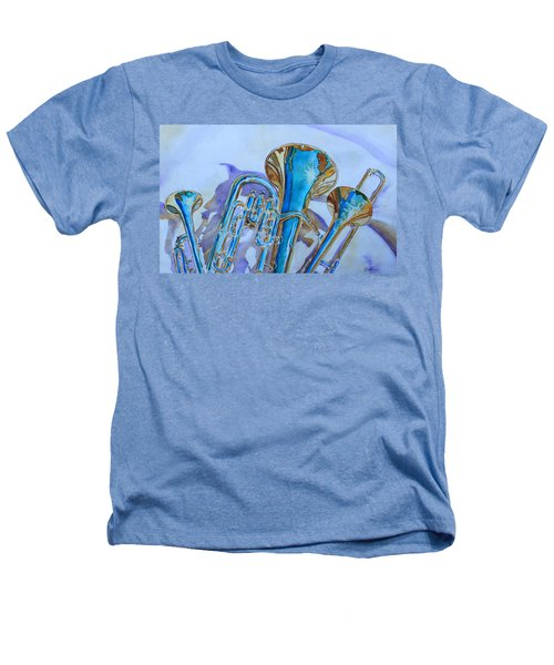 Brass Candy Trio Heathers T-Shirt by Jenny Armitage