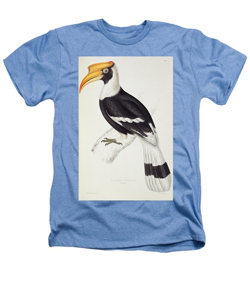 Great Hornbill Heathers T-Shirt by John Gould