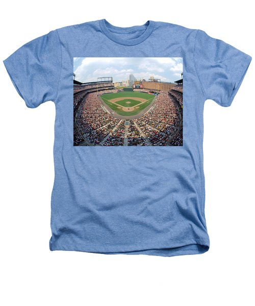 Camden Yards Baltimore Md Heathers T-Shirt by Panoramic Images