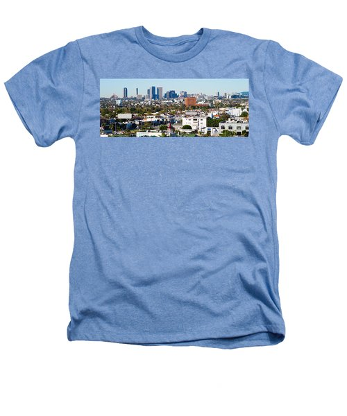 Century City, Beverly Hills, Wilshire Heathers T-Shirt by Panoramic Images