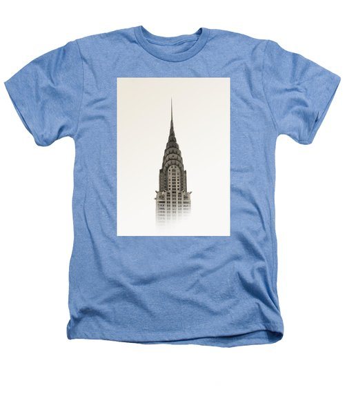Chrysler Building - Nyc Heathers T-Shirt by Nicklas Gustafsson