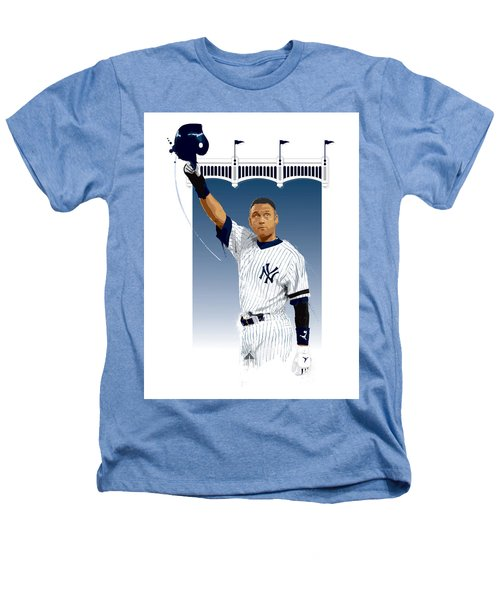 Derek Jeter 3000 Hits Heathers T-Shirt by Scott Weigner