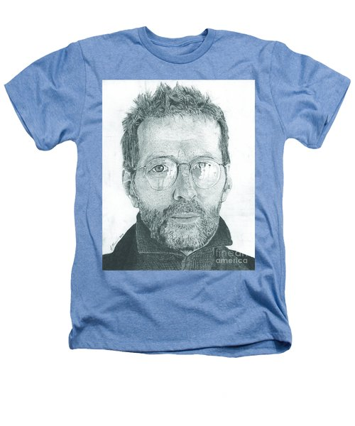 Eric Clapton Heathers T-Shirt by Jeff Ridlen