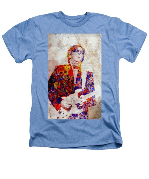 Eric Claptond Heathers T-Shirt by Bekim Art