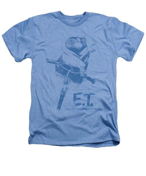 Et - Bike Heathers T-Shirt by Brand A