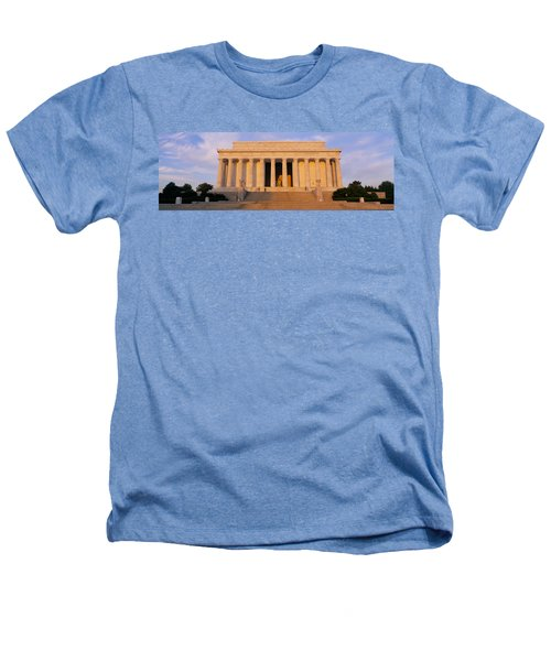 Facade Of A Memorial Building, Lincoln Heathers T-Shirt by Panoramic Images