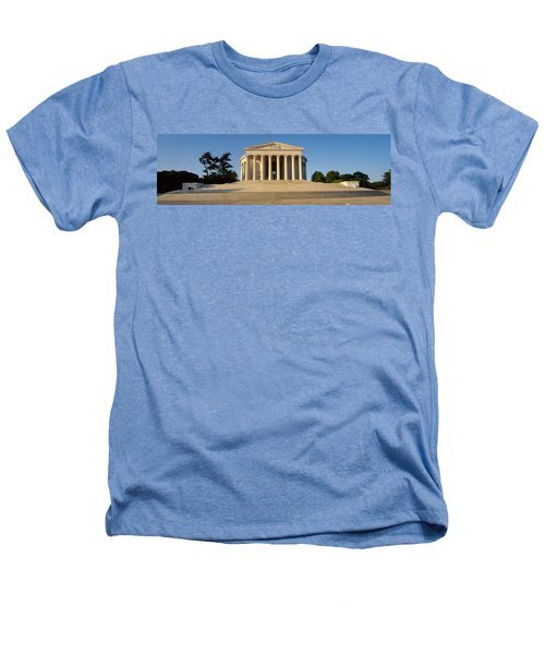 Facade Of A Memorial, Jefferson Heathers T-Shirt by Panoramic Images