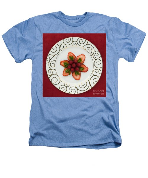 Flowering Fruits Heathers T-Shirt by Anne Gilbert