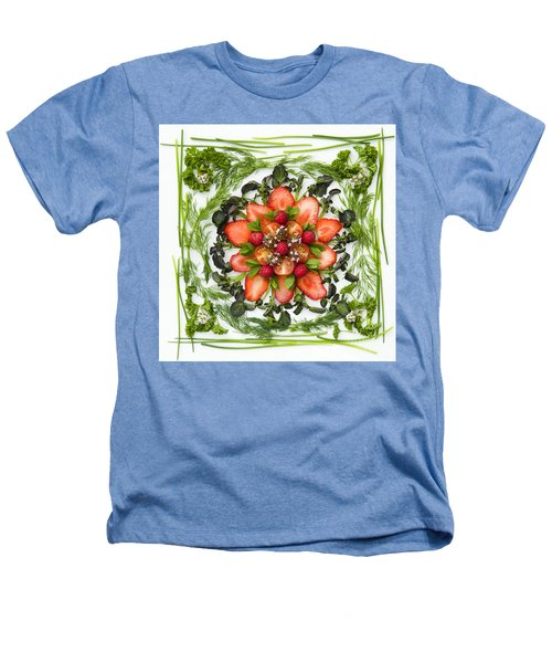 Fresh Fruit Salad Heathers T-Shirt by Anne Gilbert