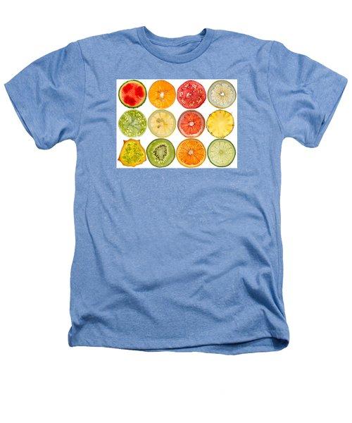 Fruit Market Heathers T-Shirt by Steve Gadomski