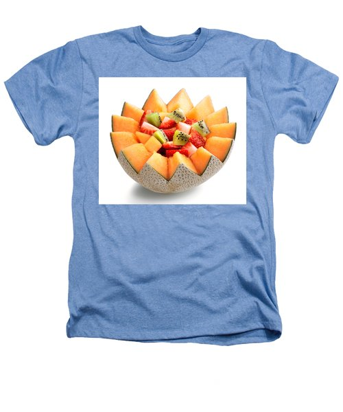 Fruit Salad Heathers T-Shirt by Johan Swanepoel