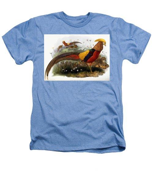 Golden Pheasants Heathers T-Shirt by Joseph Wolf