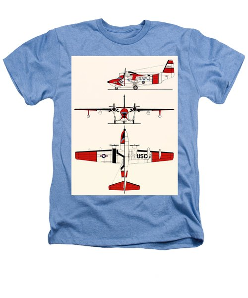 Grumman Hu-16e Albatross Heathers T-Shirt by Mountain Dreams