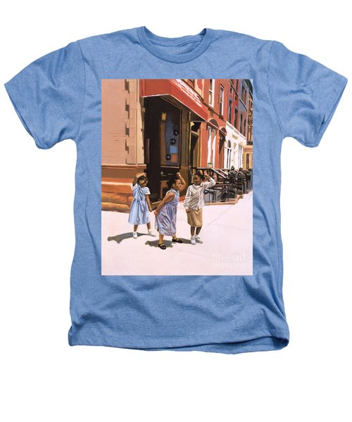 Harlem Jig Heathers T-Shirt by Colin Bootman