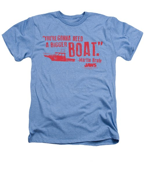 Jaws - Bigger Boat Heathers T-Shirt by Brand A