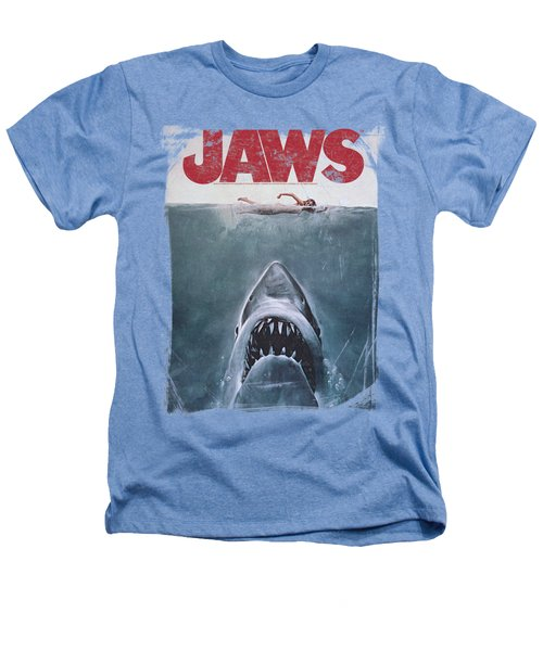 Jaws - Title Heathers T-Shirt by Brand A