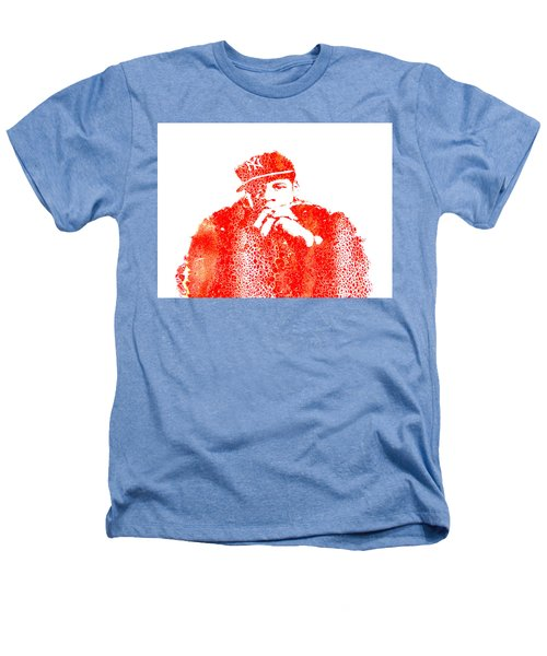 Jay Z Vibes Heathers T-Shirt by Brian Reaves