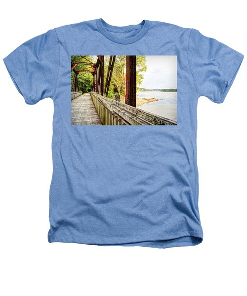 Katy Trail Near Coopers Landing Heathers T-Shirt by Cricket Hackmann