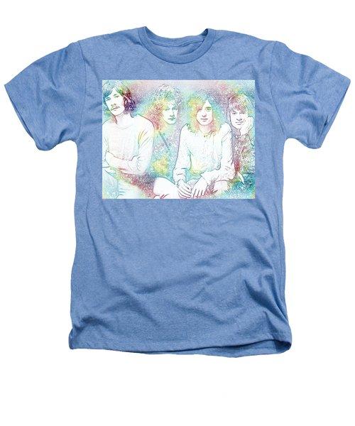 Led Zeppelin Tie Dye Heathers T-Shirt by Dan Sproul