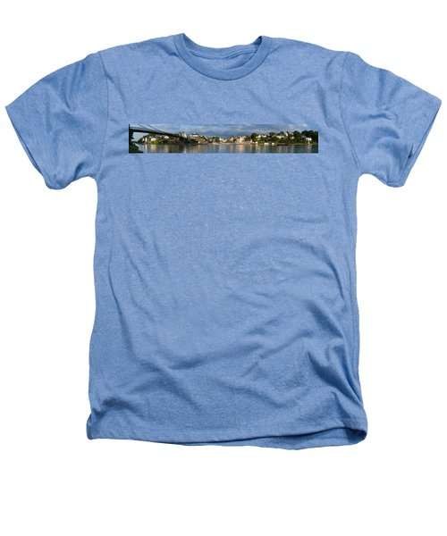 Old Bridge Over The Sea, Le Bono, Gulf Heathers T-Shirt by Panoramic Images