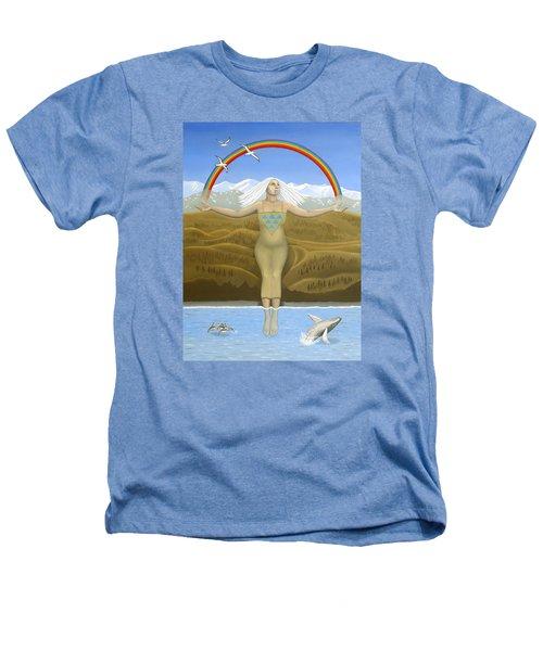 Papatuanuku / Capricorn Heathers T-Shirt by Karen MacKenzie