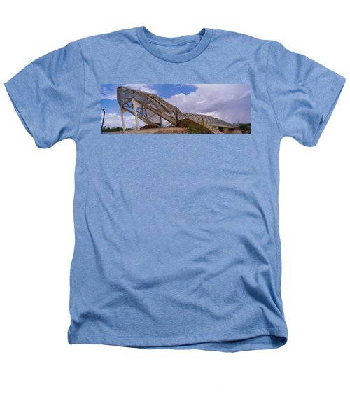 Pedestrian Bridge Over A River, Snake Heathers T-Shirt by Panoramic Images