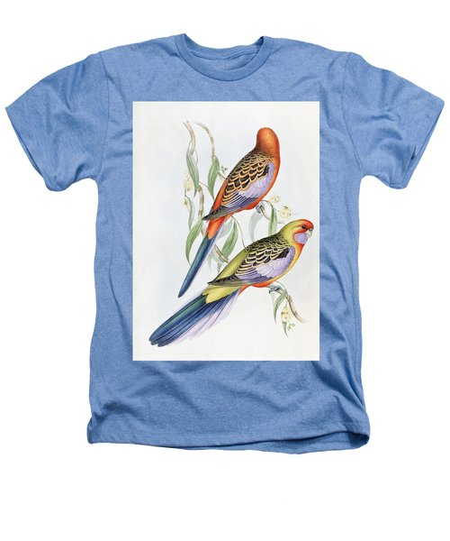 Platycercus Adelaidae From The Birds Of Australia Heathers T-Shirt by John Gould