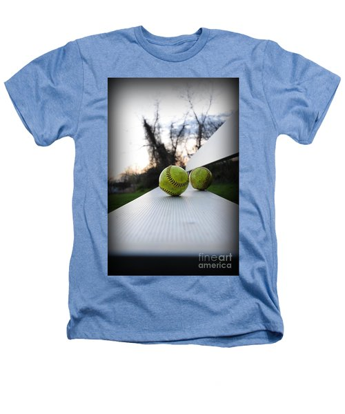 Play Ball Heathers T-Shirt by Paul Ward