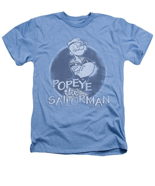 Popeye - Original Sailorman Heathers T-Shirt by Brand A