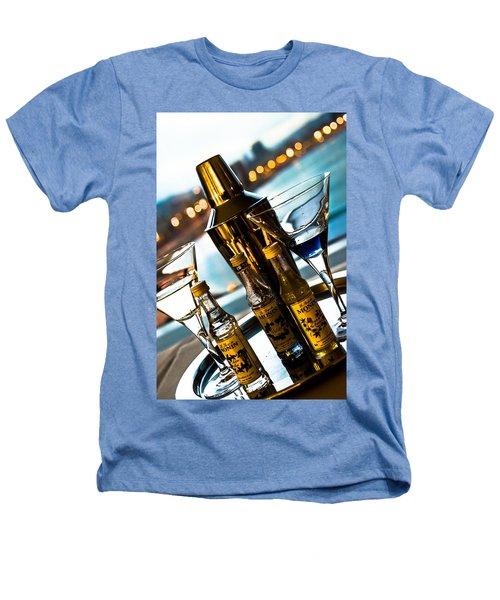 Ready For Drinks Heathers T-Shirt by Sotiris Filippou