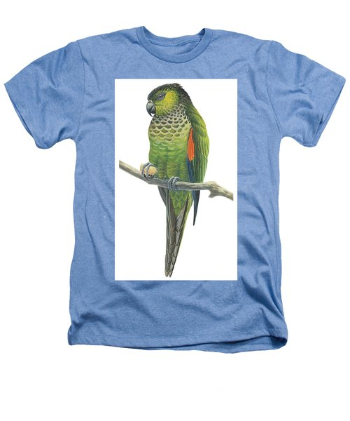 Rock Parakeet Heathers T-Shirt by Anonymous