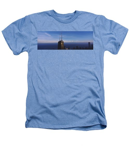 Skyscrapers In A City, Hancock Heathers T-Shirt by Panoramic Images