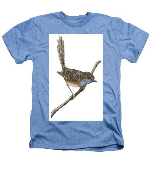 Southern Emu Wren Heathers T-Shirt by Anonymous